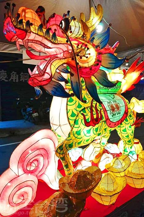 火麒麟也出現在這裡。/玩全台灣旅遊網特約記者隱月攝