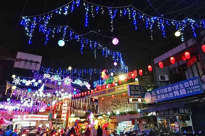 樹林之美新春嘉年華燈會目前正盛大舉辦中。/玩全台灣旅遊網特約記者隱月攝