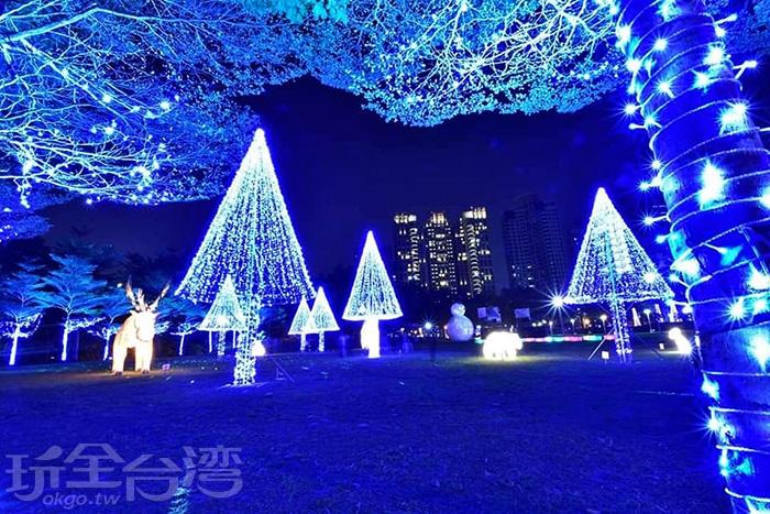 目眩神迷的浪漫燈飾/玩全台灣旅遊網特約記者隱月攝