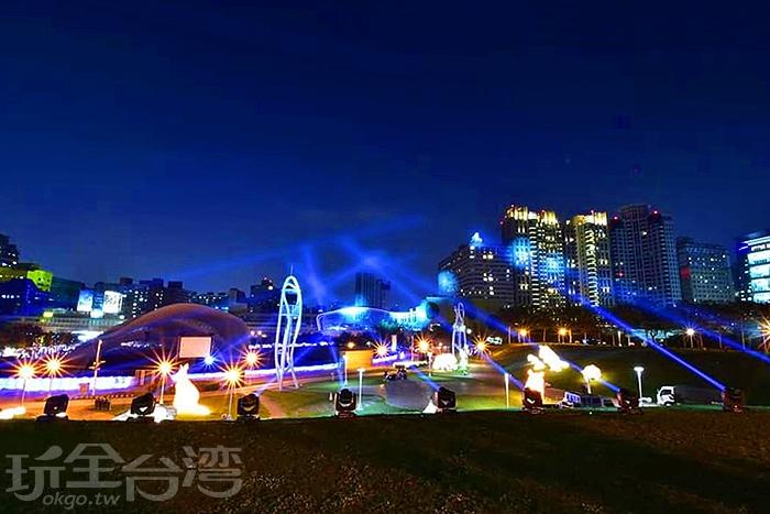 文心森林公園為台中燈會副展區/玩全台灣旅遊網特約記者隱月攝