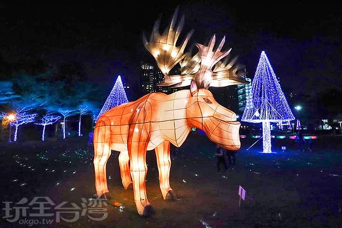超有北歐風情的戽斗麋鹿/玩全台灣旅遊網特約記者隱月攝