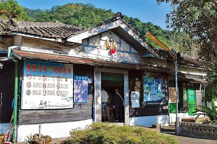 目前已是新竹縣歷史建築的內灣派出所。/玩全台灣旅遊網特約記者隱月攝