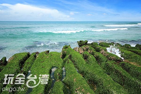 石門綠石槽/玩全台灣旅遊網攝