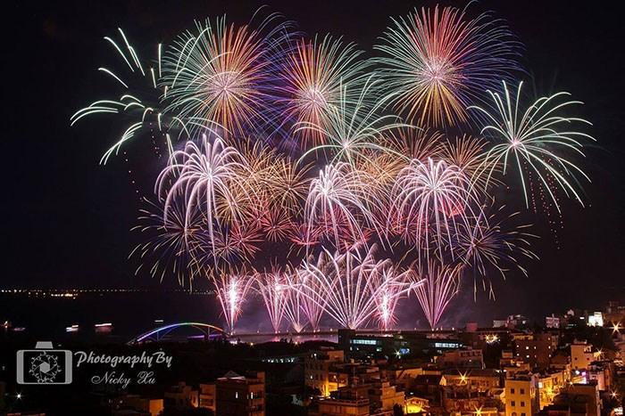 2017最動人的澎湖花火節來囉~!今年你準備好要去看美麗煙花了嗎?