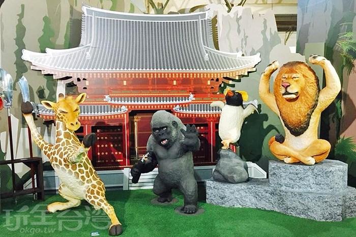 【ㄎㄧㄤ度一百】超搞笑的動物公仔展,動物們全部都ㄎㄧㄤ掉了啦!!