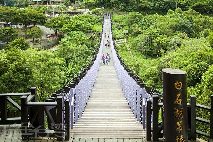 【假日漫遊】走過與你緊繫的紫色奇幻吊橋  穿越時空找回初心