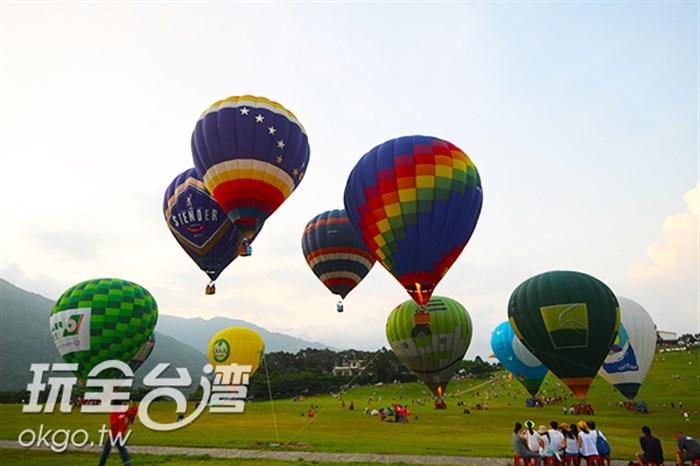 一年一度的熱氣球嘉年華來囉~今年會有什麼角色加入呢~讓我們一起來驚艷一夏吧!!