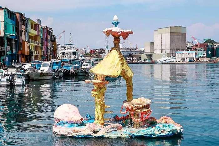 【潮藝術節in基隆】最「潮」的裝置藝術都在這裡!一起來尋找掉落在威尼斯的神秘作品吧!