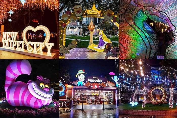 【2020新北耶誕城】越夜越美麗!!迪士尼跟著聖誕老公公一起來台北囉~~~!
