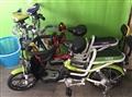 雙人親子電動腳踏車+船