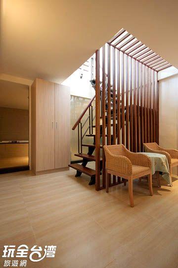 四人海景樓中樓套房1F+B1 (room1)