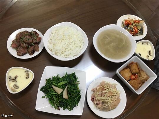2人份行旅晚餐,5菜1湯。 相片來源:瑞里詹德仁茶園民宿
