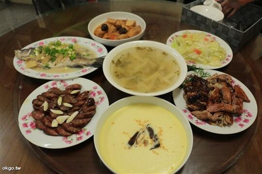 7人份行旅晚餐,6菜1湯。 相片來源:瑞里詹德仁茶園民宿