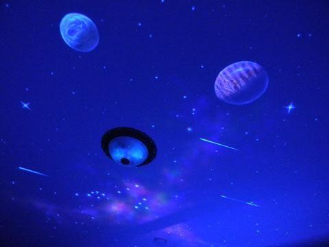 銀河流星彩繪星空 相片來源:三義.薄霧館民宿.薄霧館樓中樓民宿