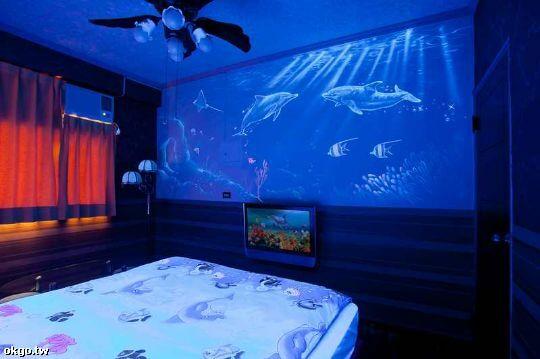 4樓海底世界星空彩繪