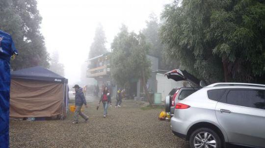 雲頂雪景 相片來源:拉拉山露營.雲頂休閒露營區