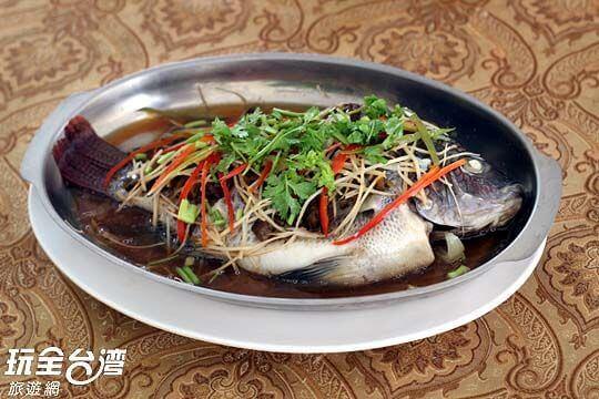 清蒸高山魚 相片來源:新竹內灣尖石武林帖