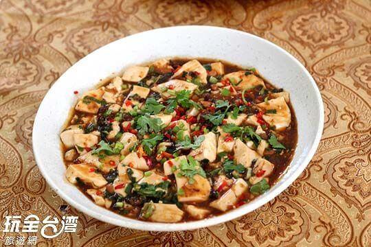 刺蔥豆腐煲 相片來源:新竹內灣尖石武林帖