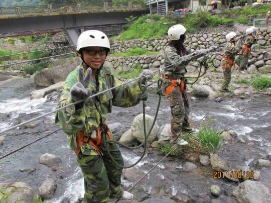 雙三索突擊吊橋 相片來源:新竹內灣尖石武林帖