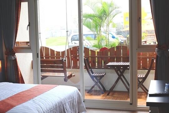 101小丑魚二人房,可變換2張單人床(請於入住前告知) 相片來源:澎湖卡膜脈民宿