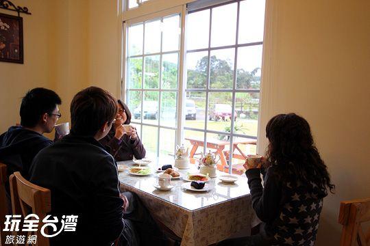 悠閒時光 相片來源:日月潭民宿~紅茶工房