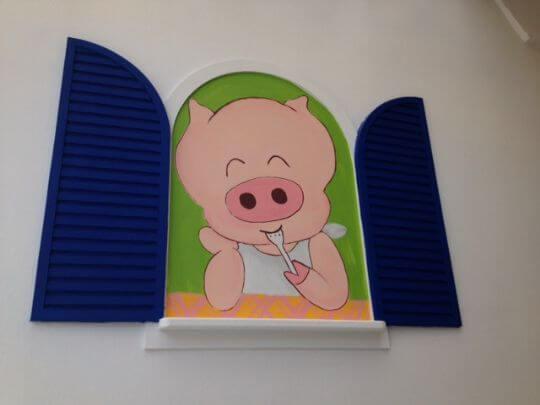 愛笑pig 相片來源:墾丁Pig House二館 包棟主題民宿