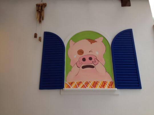 愛哭pig 相片來源:墾丁Pig House二館 包棟主題民宿