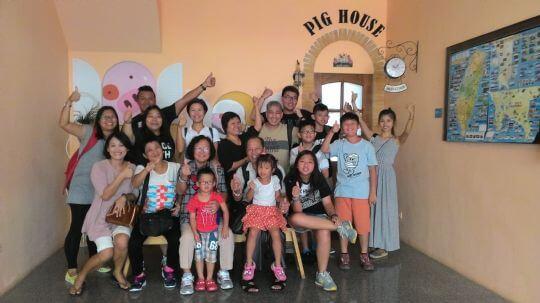 香港朋友 相片來源:墾丁Pig House二館 包棟主題民宿