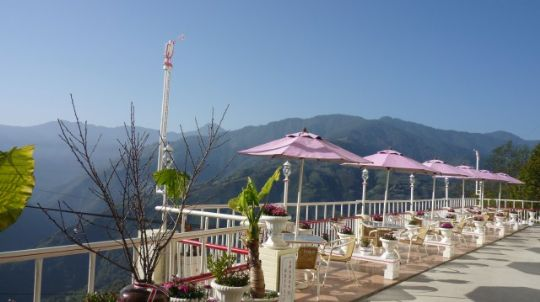 露天賞景咖啡 相片來源:拉拉山松林渡假山莊