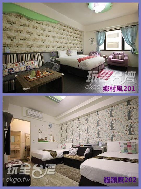 2樓201+202 相片來源:埔里六個夏天民宿