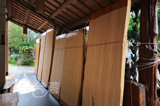 檜木處理過程