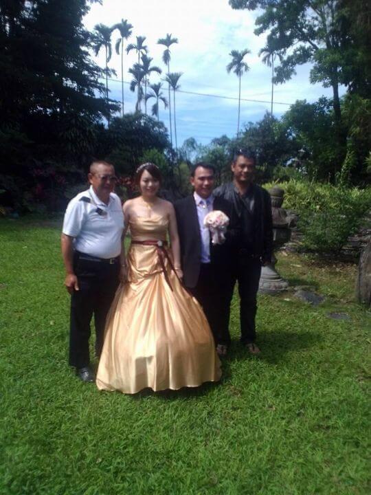 2014~5月結婚新人 相片來源:米多綠森林民宿