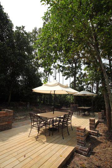 森林烤肉區 相片來源:米多綠森林民宿