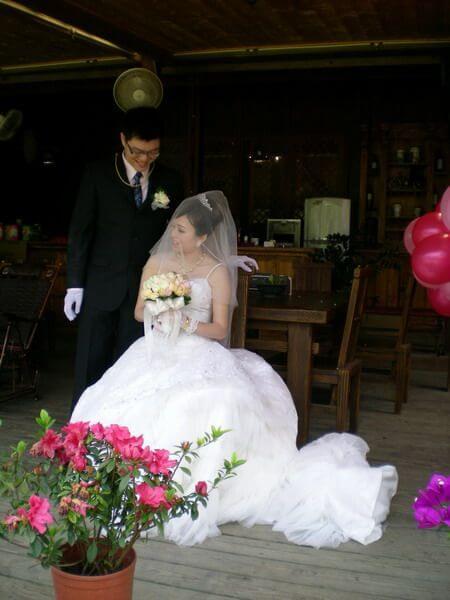 2010年新娘特輯 相片來源:米多綠森林民宿