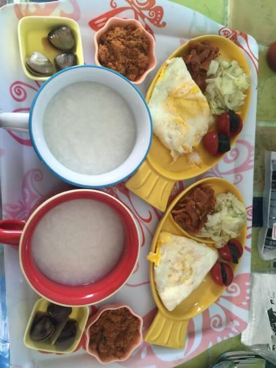 民宿早餐 相片來源:綠島綠海城堡民宿