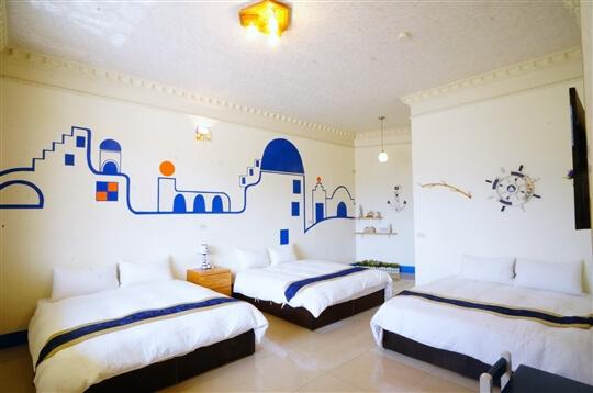 希臘六人房 相片來源:瑞里孟宗築民宿~瑞里民宿、住宿(官方網站)