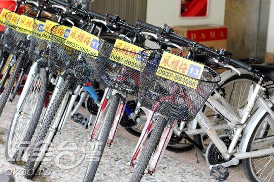 民宿自行車