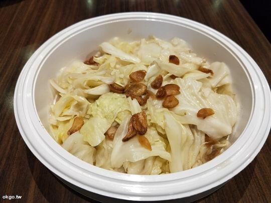 *招待蒜香高麗菜* 相片來源:淺田屋日式料理