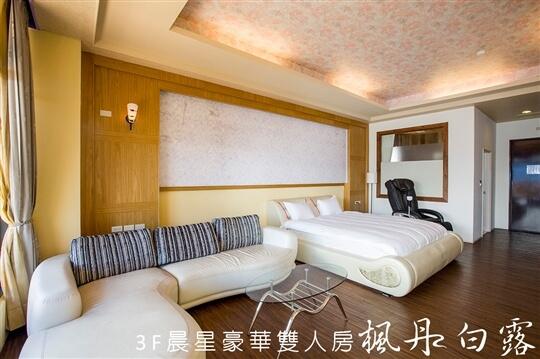晨星豪華雙人房 相片來源:清境楓丹白露民宿