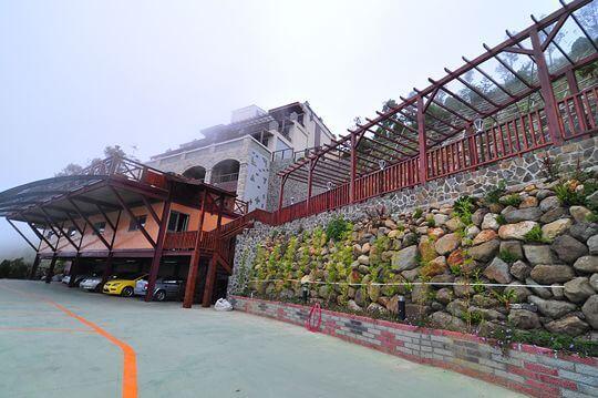 停車場 相片來源:清境楓丹白露民宿