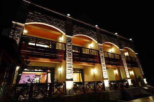 夜拍外觀 相片來源:清境楓丹白露民宿