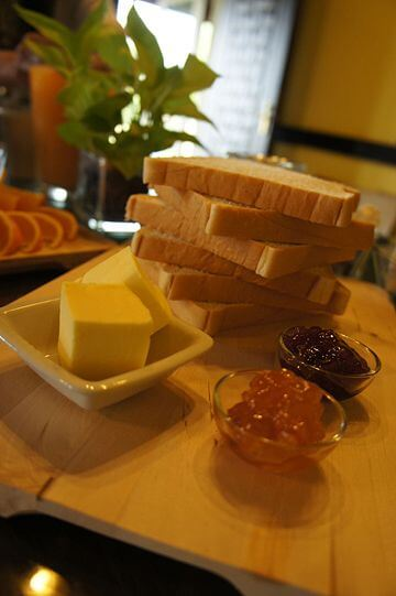 ~美味早餐~ 相片來源:新竹新埔‧普羅旺斯玫瑰莊園民宿