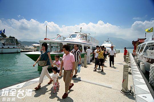 大粧二號 相片來源:日月潭水社海觀光遊艇(股)有限公司