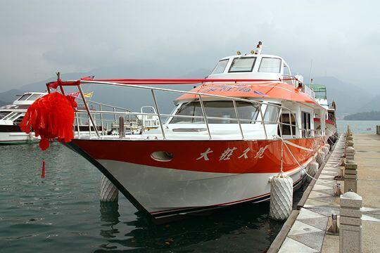 大粧久號 相片來源:日月潭水社海觀光遊艇(股)有限公司