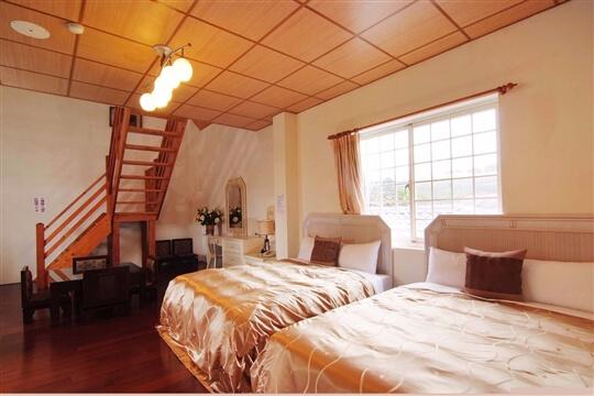 溫馨六人樓中樓 相片來源:清境家園景觀山莊