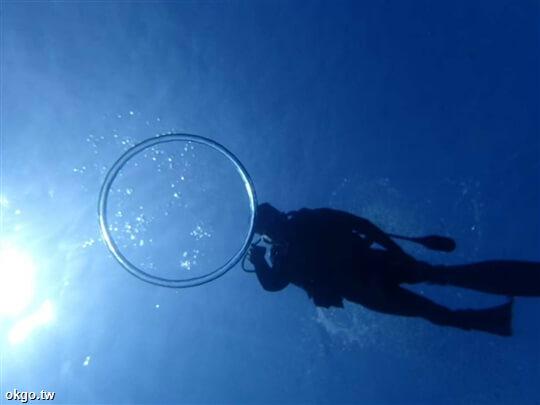 一對一教練帶領您體驗美麗的海底世界 相片來源:綠島TORO觀海民宿