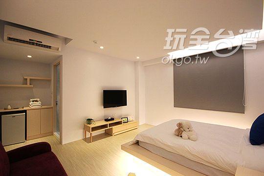 標準雙人房 相片來源:台北淡水捷運民宿‧這一站幸福民宿