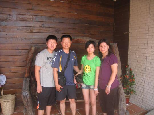 2010.8.8~9邱先生4人住通鋪 相片來源:墾丁寵物民宿.哈CHEESE