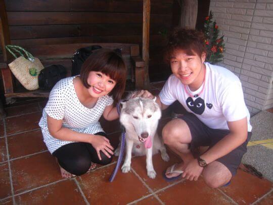 2010.08.13吳小姐2人住蛋屋 相片來源:墾丁寵物民宿.哈CHEESE