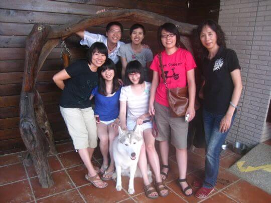 2010.8.15易小姐5人入住通鋪 相片來源:墾丁寵物民宿.哈CHEESE